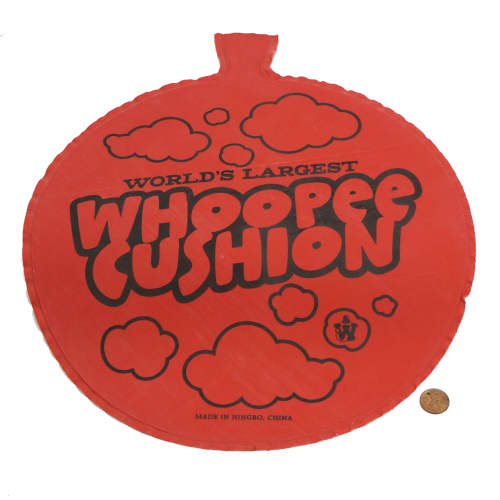 EXTRA LARGE RUBBER WHOOPIE CUSHION