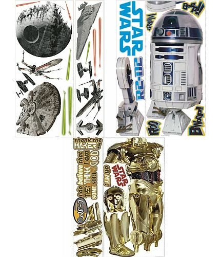 STAR WARS DECAL 3-PACK