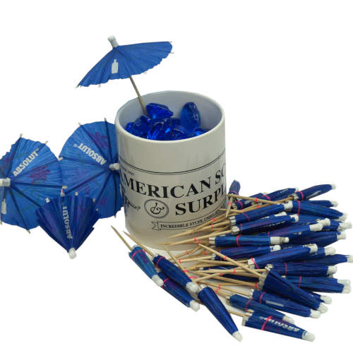 PACK OF 50 COCKTAIL UMBRELLAS