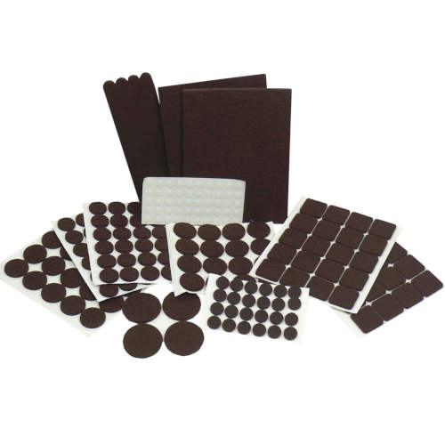 ADHESIVE FURNITURE FELT AND SILICONE PADS