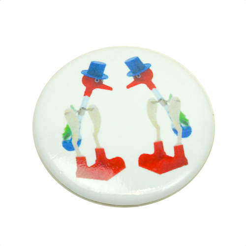 DRINKING BIRDS BUTTON