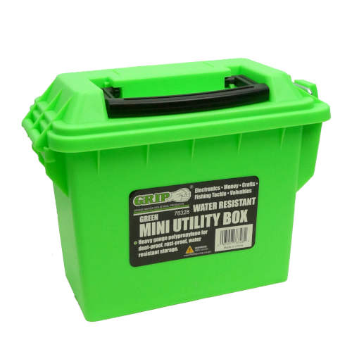 WATER-RESISTANT UTILITY BOX