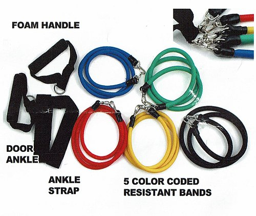 RESISTANCE EXERCISE BAND SET