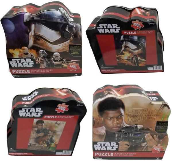 STAR WARS COLLECTOR'S PUZZLES IN A TIN