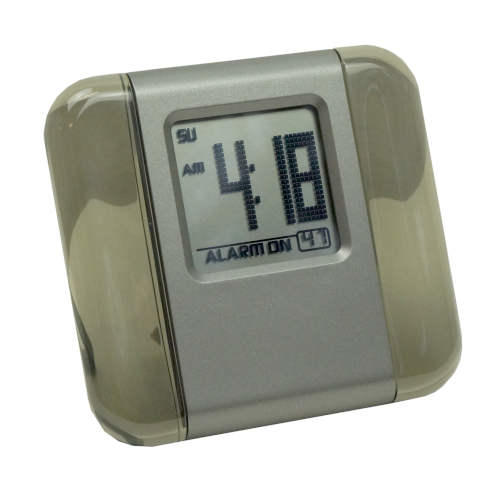 BATTERY OPERATED TRAVEL/DESK CLOCK
