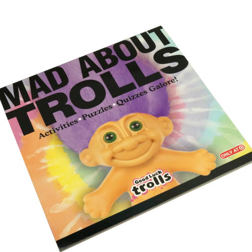 MAD ABOUT TROLLS ACTIVITY BOOK