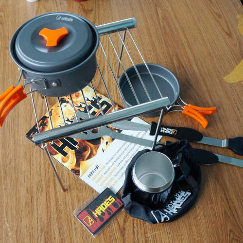 ALPHA OUTPOST CAMPING COOKING KIT