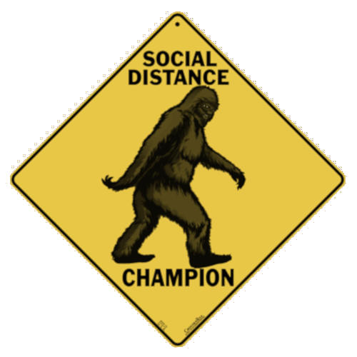 ALL METAL SOCIAL DISTANCE CHAMP: BIGFOOT!