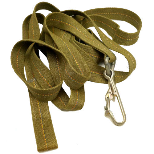 FRENCH MILITARY TOW STRAP WITH HOOK