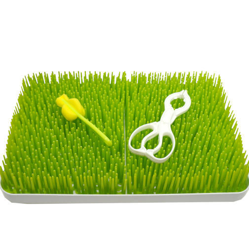 PLASTIC GRASS DISH DRYING RACK