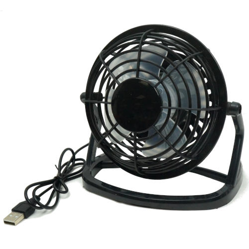 "USB-POWERED 5"" DESK FAN"