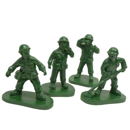 "3"" TALL CLASSIC GREEN ARMY MEN"