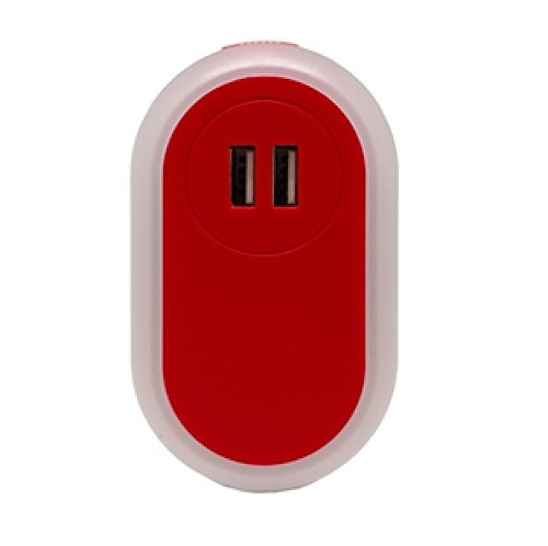 2.1 AMP USB CHARGER NIGHTLIGHT