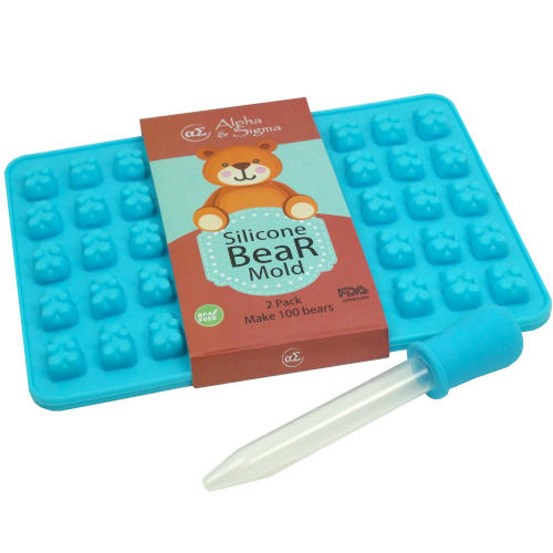 CHEWY BEAR SILICONE TRAY MOLDS