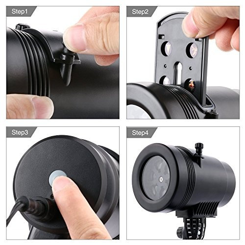 MINI LED PROJECTION LIGHT WITH 14 DESIGNS