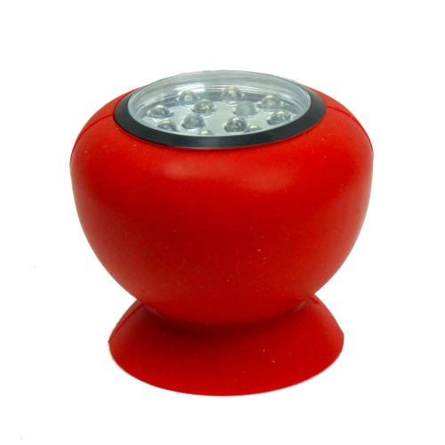 RED RUBBER SUCTION LED LIGHT