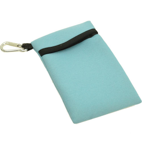 """6"""" X 3-1/2"""" SOFT CASE WITH CARABINER"""