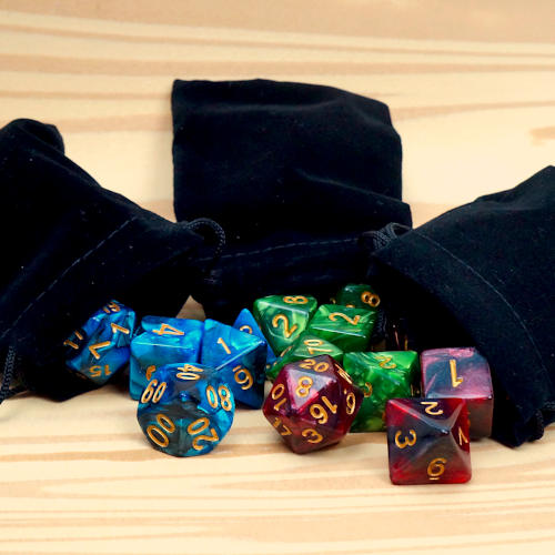 3 SETS ASSORTED CAMPAIGN DICE