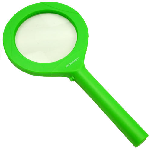 COB LED MAGNIFYING GLASS WITH HANDLE