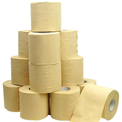 4-PLY BAMBOO TOILET PAPER 60 ROLLS