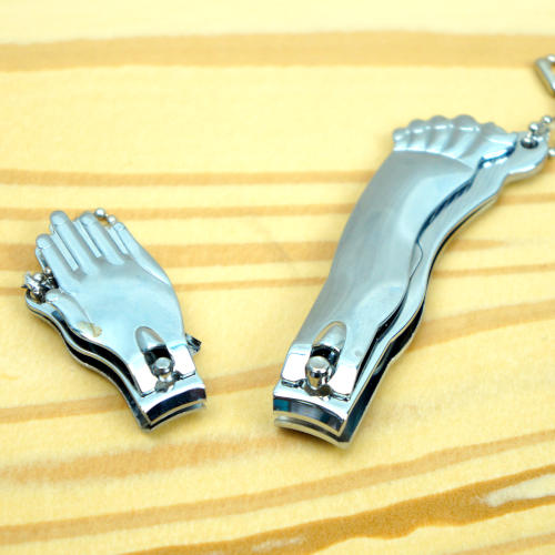 HAND-AND FOOT-SHAPED NAIL CLIPPERS