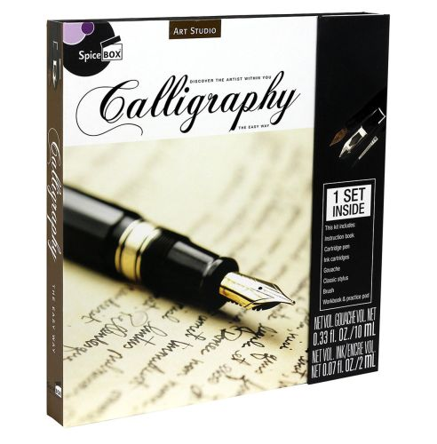 COMPLETE CALLIGRAPHY SET WITH INSTRUCTIONS