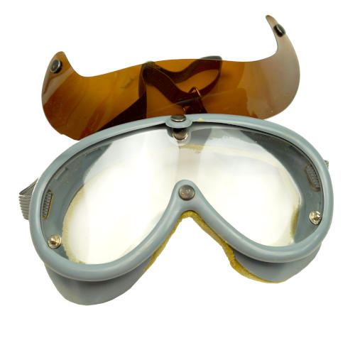 GERMAN SAFETY GOGGLES WITH VISOR