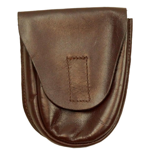 CZECH BROWN LEATHER HANDCUFFS POUCH