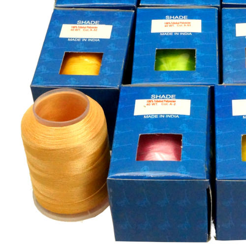 2000 YARD 40 WT POLYESTER EMBROIDERY THREAD 4-DIFFERENT COLORS