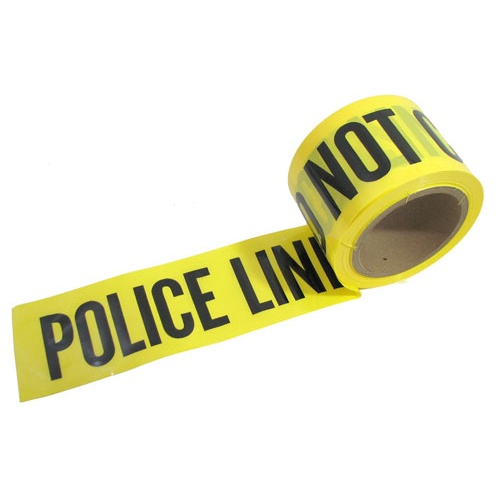 POLICE LINE BARRICADE TAPE (200 FT)