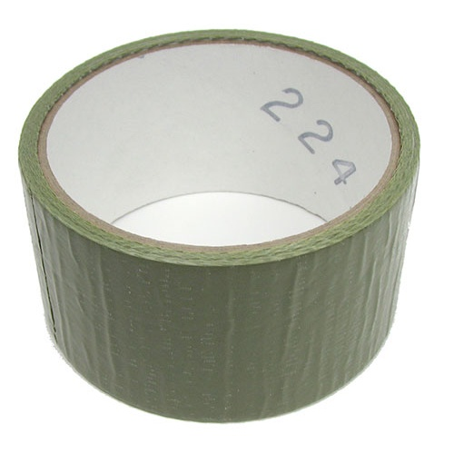 "1-7/8"" WIDE OLIVE DRAB DUCT TAPE"