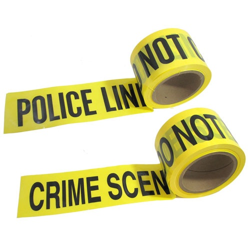 CRIME SCENE BARRICADE TAPE (200 FT)