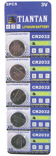 CR2032 LITHIUM BATTERIES