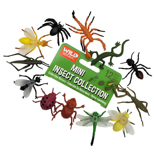 CREEPY CRAWLIES ASSORTED TOY INSECTS