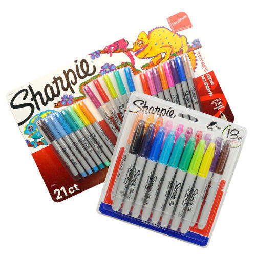 21 ULTRA FINE POINT SHARPIE® MARKERS