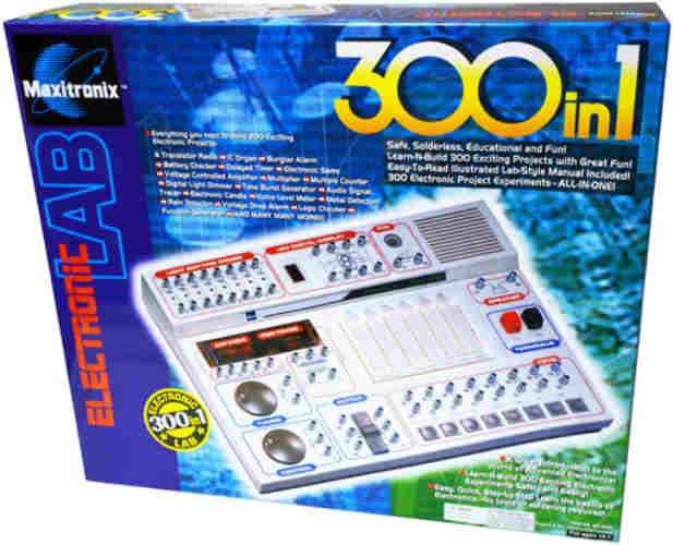 300-IN-1 ELECTRONICS KIT