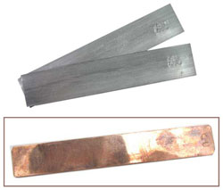 COPPER STRIP FOR CRAFTS OR SCIENCE FAIR