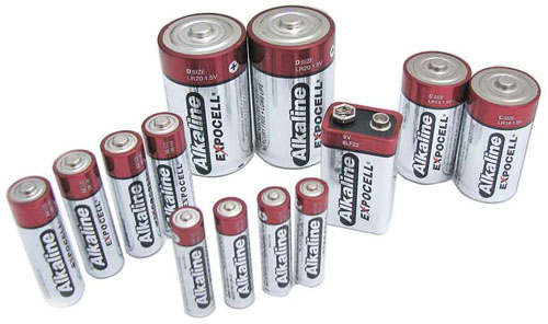 "4-PACK ""AAA"" ALKALINE BATTERIES"