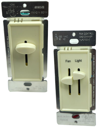 CEILING FAN AND LAMP DIMMER