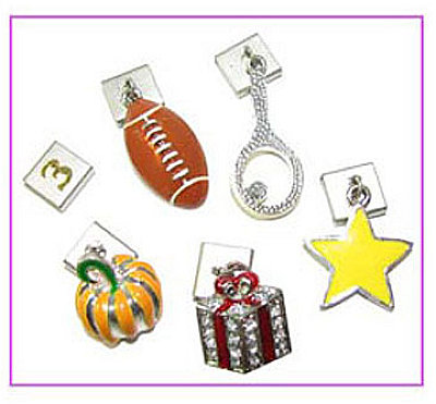 ASSORTED MAGNETIC CHARMS