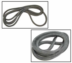LARGE ASSORTED RUBBER FLAT GASKETS