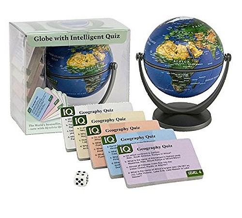 PHYSICAL GLOBE QUIZ GAME