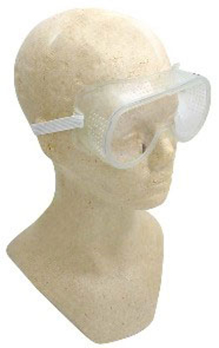 CLEAR PLASTIC SAFETY GOGGLES