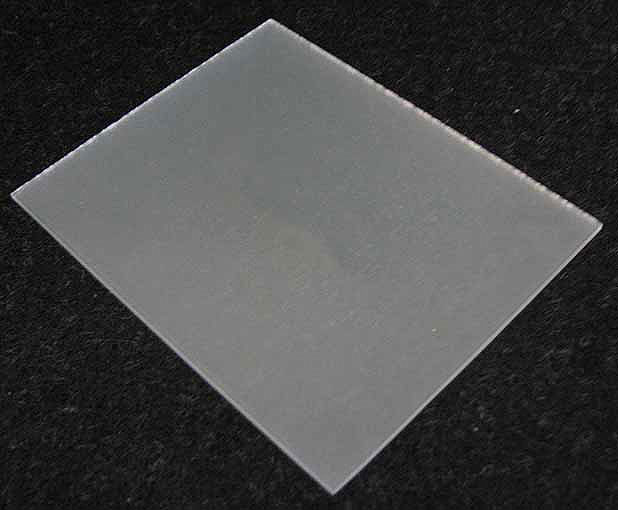 "GROUND GLASS 3-1/2"" x 4-3/8"""