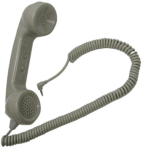 RETRO CELLPHONE HANDSET, BROWN