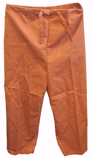BURNT SIENNA KIDS SCRUB PANTS