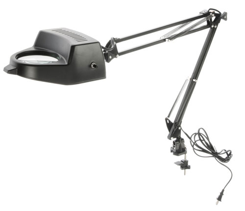 DESK MAGNIFYING LAMP W/CLAMP