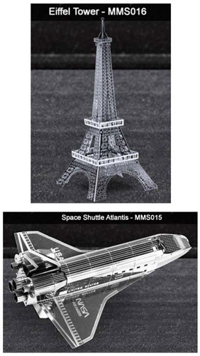 METAL MARVELS EIFFEL TOWER MODEL