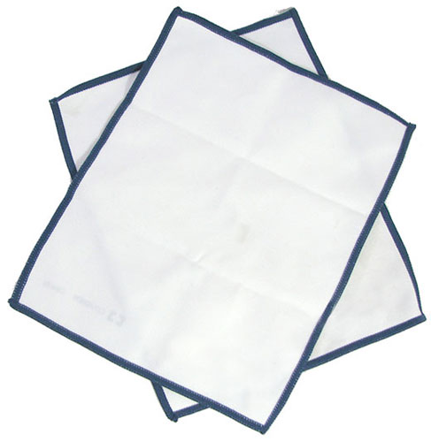 LAB GRADE MICROFIBER LENS CLOTHS 3-PACKS OF (2)
