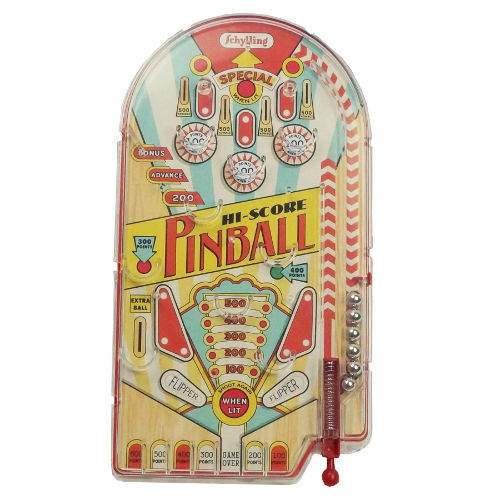 TREASURE HUNT AND PINBALL SET